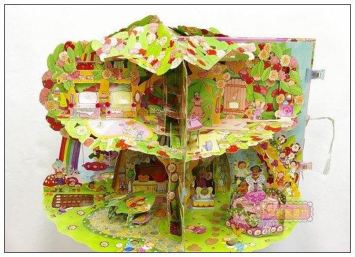 內頁放大:花仙子豪華立體劇場遊戲書3:My Fairy Treehouse