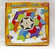 創意幾何拼圖5~萬花拼拼樂(菱形、梯形、三角形的組合變化)