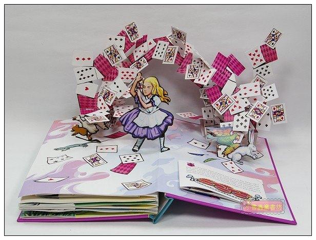 內頁放大:Alice,s Adventures in Wonderland (愛麗絲夢遊仙境):名家立體書
