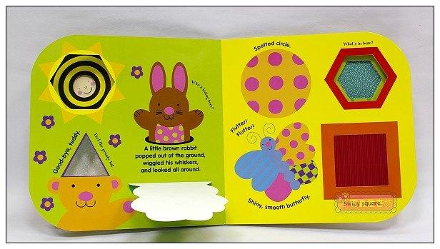 內頁放大:幼兒驚奇觸摸書:Peek-a-zoo