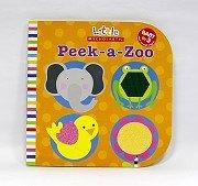 幼兒驚奇觸摸書:Peek-a-zoo