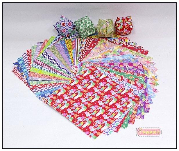 內頁放大:日本色紙:40柄和風千代紙(現貨數量:5)