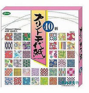 日本色紙:40柄和風千代紙(現貨數量:4)