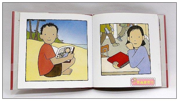 內頁放大:驚奇無字繪本1:The Red Book
