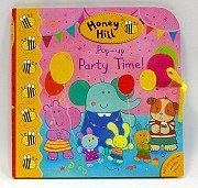 立體遊戲故事書:Honey Hill Pop-up Party Time!