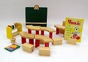 娃娃屋配件:教室組S541C(絕版商品)