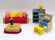 娃娃屋配件:客房組 S555B(絕版商品)