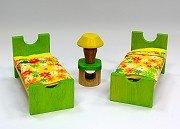 娃娃屋配件:兒童床組 S555H(絕版商品)
