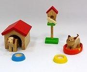 娃娃屋配件:寵物組 S555F(絕版商品)