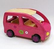 娃娃屋配件:四人休旅車 S547G(絕版商品)