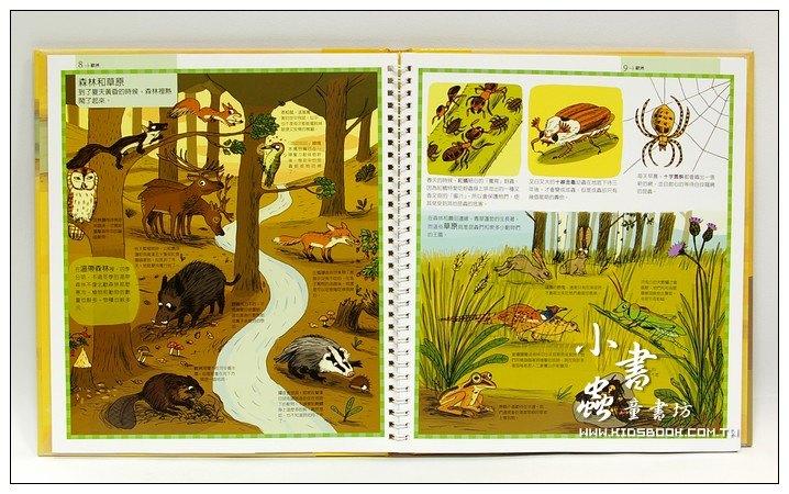 內頁放大:環遊世界動物書(79折)