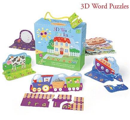 內頁放大:幼兒學習大拼圖:3D字母拼圖(特價7折)