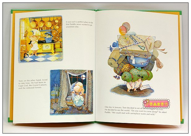 內頁放大:Toot&Puddle