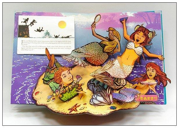 內頁放大:名家立體書:Peter Pan (小飛俠 彼德潘)