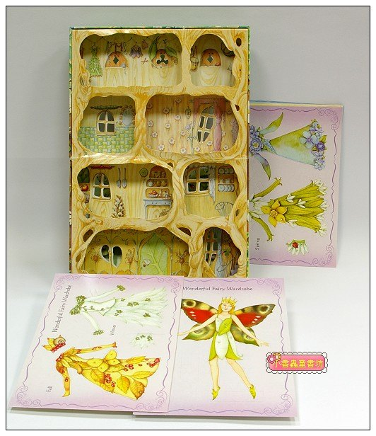 內頁放大:劇場書:Fairy tree house (小仙子的樹屋)