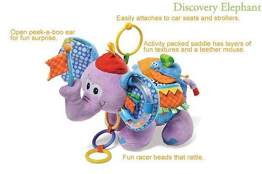 內頁放大:大象學習玩偶(特價品)