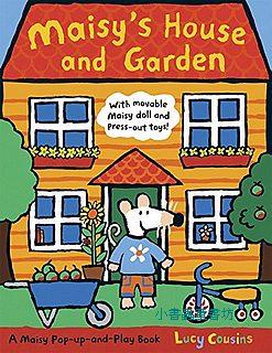 小鼠波波角色扮演立體遊戲書:Maisy's house and garden(波波的花園新家)85折
