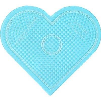 內頁放大:大透明愛心形板:小拼豆模板
