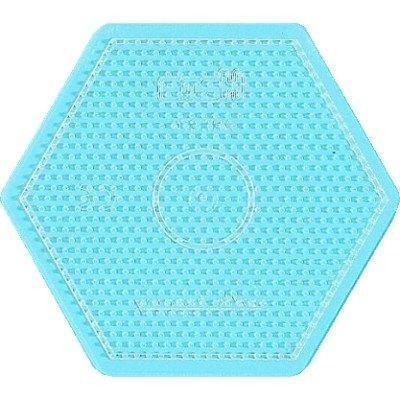 內頁放大:大透明六角形板:小拼豆模板