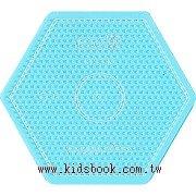 大透明六角形板:小拼豆模板