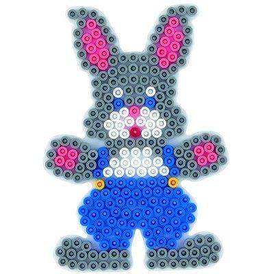 內頁放大:兔子造型模板:小拼豆模板