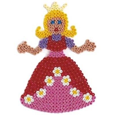 內頁放大:公主造型模板:小拼豆模板