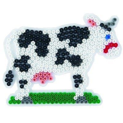 內頁放大:牛造型模板:小拼豆模板