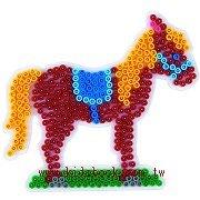 馬造型模板:小拼豆模板
