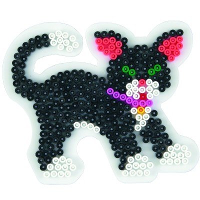 內頁放大:貓造型模板:小拼豆模板(B級品特賣)現貨:1