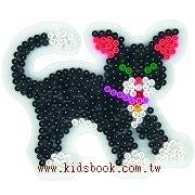 貓造型模板:小拼豆模板(B級品特賣)現貨:1