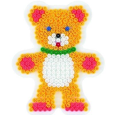 內頁放大:泰迪熊型模板:小拼豆模板