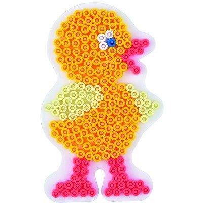 內頁放大:雞造型模板:小拼豆模板