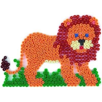 內頁放大:獅子造型模板:小拼豆模板