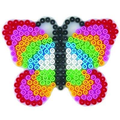 內頁放大:蝴蝶造型模板:小拼豆模板