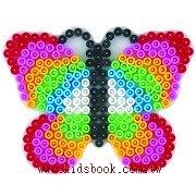 蝴蝶造型模板:小拼豆模板