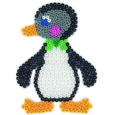 內頁放大:企鵝造型模板:小拼豆模板