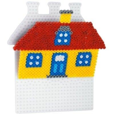 內頁放大:房屋造型模板:小拼豆模板