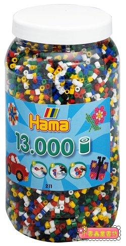 小拼豆補充桶:13000顆(6色)