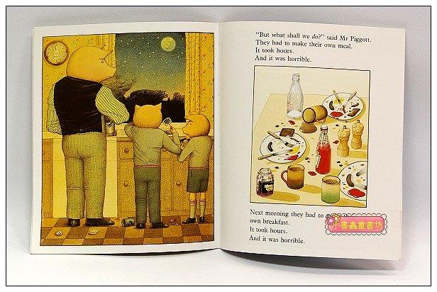 內頁放大:PIGGYBOOK(朱家故事 平裝英國版)
