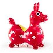 義大利 Rody 跳跳馬─紅+打氣筒(79折)