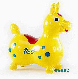 義大利 Rody 跳跳馬─黃+打氣筒(特價出清 )現貨:1