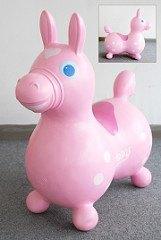 義大利 Rody 跳跳馬─粉紅 (日本限定款)+打氣筒(79折)
