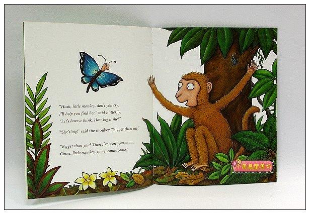 內頁放大:快樂讀唱繪本:Monkey Puzzle (小猴子找媽媽)平裝書+CD