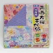 日本色紙:繽紛花朵(雙面)