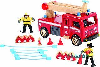 消防局角色扮演:消防車和消防隊(絕版商品)