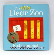 快樂讀唱繪本:Dear Zoo(親愛的動物園)立體書+CD