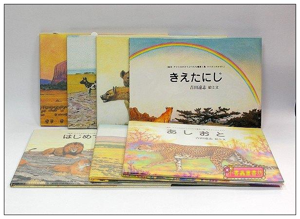 內頁放大:非洲動物繪本:獅子系列 6合1(日文版,附中文翻譯)