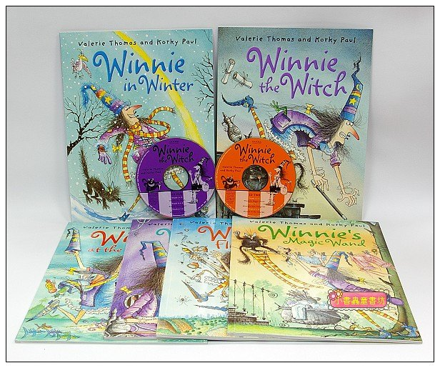 內頁放大:WINNIE THE WITCH six book collection(巫婆與黑貓系列故事6書2CD)