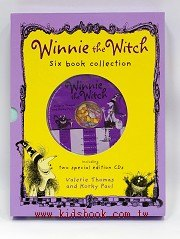 WINNIE THE WITCH six book collection(巫婆與黑貓系列故事6書2CD)