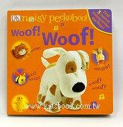 翻翻書+音效書:Woof! Woof!(noisy peekaboo)